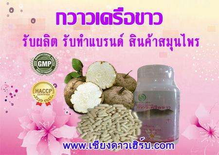 รับผลิตยาอาหารเสริม กวาวเครือขาว แคปซูล