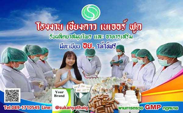 โรงงานรับผลิตและขายสมุนไพร ยาสลายไขมัน อาหารเสริมแคปซูล